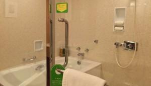 浦安ブライトンホテル東京ベイ Room Forest 風呂場