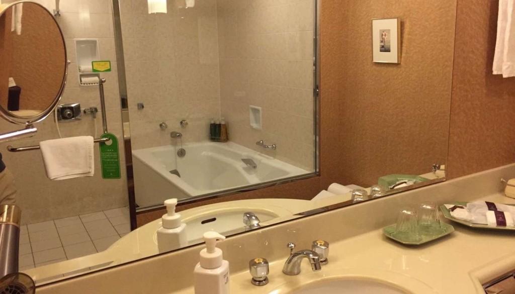 浦安ブライトンホテル東京ベイ Room Forest 洗面