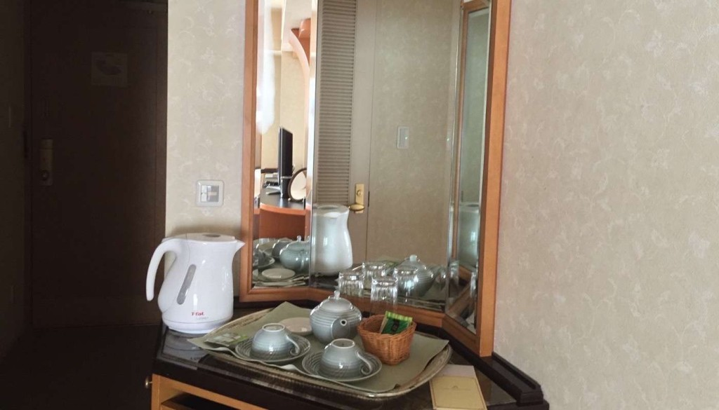 浦安ブライトンホテル東京ベイ Room Forest ミニバー