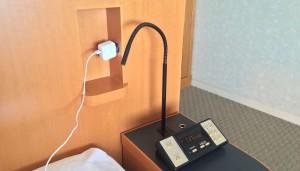 浦安ブライトンホテル東京ベイ Room Forest コンセント