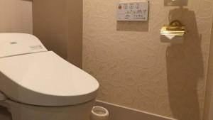 サンルートプラザ東京 キャッスルルーム トイレ